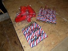 25 Firework Tube Shells, for $20.00, w/fuse/ plastic plugs or paper,