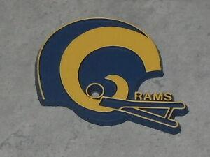 NFL Vintage LOS ANGELES RAMS LA RUBBER Football FRIDGE MAGNET Standings Board