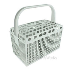 AEG Genuine Dishwasher Cutlery Basket Light Grey Plastic Cage Rack Spare Part