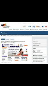 Online-Shop inkl. Domain zu verkaufen, Dropshipping