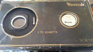 rare vintage voxon speakers  nos