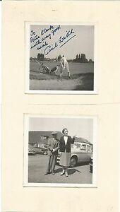 """Cecil Leitch Signed 3"""" x 3"""" Photo  - JSA Authenticated - LPGA"""