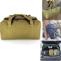 Travel Luggage Suitcase Bags Elastic Waterproof Backpack Hiking Large Army