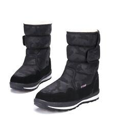 Kids Women Camo Snow Boots Winter Thermal Warm Waterproff ankle Shoes warm boys