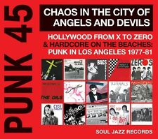SOUL JAZZ RECORDS PRESENTS/PUNK 45:CHAOS IN THE CITY OF ANGELS AND DEVILS CD NEU