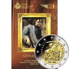 Pièces euro saint marin pour 2 euro année 2011