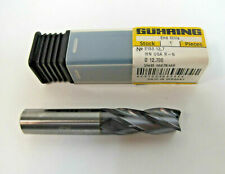 Lot Of 2 New Guhring Solid Carbide End Mill 12 X 12 X 1 Firex Coated 4 Flute