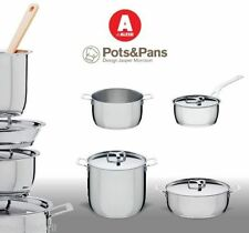 Batteria di Pentole POTS&PANS Alessi 7pz