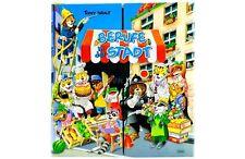 Großes Kinderbuch mit 12 kleinen Büchlein  - Berufe in der Stadt  -