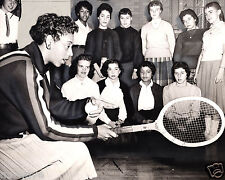 Althea Gibson-American Tennis Player and Pro Golfer-First Black Color Line