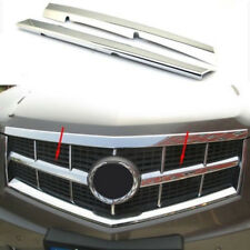 For Cadillac SRX 2010 2011 2012 Chrome Front Grille Vent Hole Frame Trim Cover