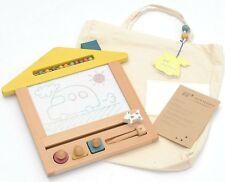 New Kukkia gg* Oekaki Dog House Drawing Board Wood Toy Game Boy Girl Unisex Gift