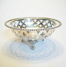 RYRIE BROS. - Pierced Sterling Silver Bonbon Dish - Canada - Early 20th Century