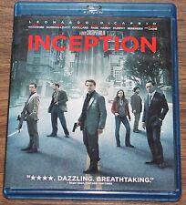Inception (Blu-ray/DVD, 2010, 3-Disc Set) Leonardo DiCaprio Christopher Nolan