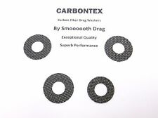 NEWELL REEL PART 235-5 - (4) Smooth Drag Carbontex Drag Washers #SDP1