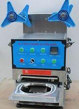 110V/220V,full automatic Desktop cup sealer,food custom tray Sealing Machine