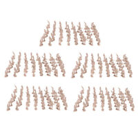 500PCS 2cm Apricot Army Men Soldiers Toy Battlefield Military Kit Playset