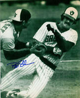1982 Bob Skube Milwaukee Brewers signed 8x10 photo AUTO Autograph w/Rick Dempsey