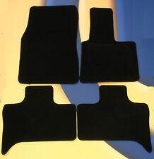 BMW X5 E70 2006 ON PREMIER TAILORED BLACK CAR MATS 7 SEATS 6 PIECE + 4 x PAD B