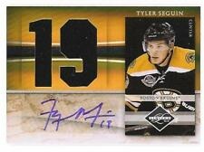 Tyler Seguin 2010 Panini Limited RC Auto/2-Jersey #/49 Bruins FREE SHIP