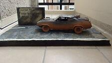 1/18 custom diorama road Mad Max Interceptor No car Auto Art  cars A-Team kitt