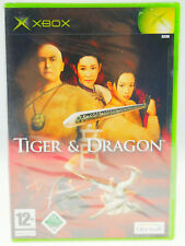 TIGER & DRAGON IN SCATOLA ORIGINALE MICROSOFT XBOX NUOVO NEW sigillati con il calore SIGILLATO SEALED