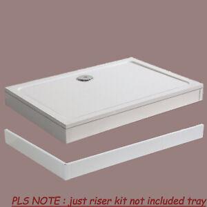 Riser Kit Plinth Big Feet for Rectangle Square Shower Enclosure Tray