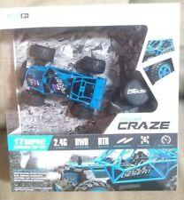 Power Craze High Speed Mini RC Car - Blue