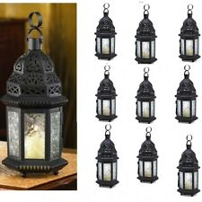 10 Moroccan Lantern SMALL Cutout Metalwork Candle Holder Wedding Centerpieces