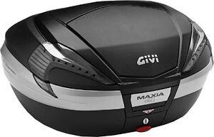Coffre Moto Givi Maxia 4 56 Litres Puâ €¢ Contenir 2 Casques Modulaires Noir