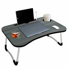 Foldable Laptop Table Portable Study, Breakfast Table Multipurpose Desk Stylish