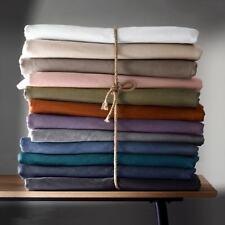 La Redoute Interieurs Unisex Cotton Flannel Flat Sheet 324145496