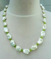 Halsketten und Anhänger mit Keshiperlen im Collier-Stil für Damen