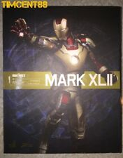 Hot Toys 1/6 Iron man 3 Mark XLII 42 Power Pose PPS 001 Figure Imperfect Box