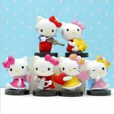 6ps Hello kitty Anime action figure collection PVC Toys Gifts