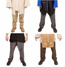 Star Wars Custom Pants Obi-Wan Kenobi Cosplay Adult Jedi Knight Costume male