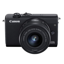 *NIB CANON EOS M200 Mirrorless Digital Camera with EF-M 15-45mm IS STM Lens Kit