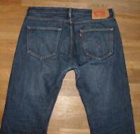 """STARK: LEVI`S 501 Herren- Jeans LEVIS Blue- Jeans in dunkel- blau ca. W37"""" /L32"""""""