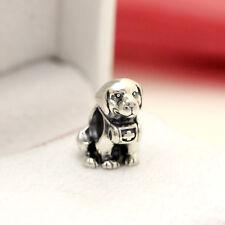 * Authentic Pandora Saint Bernard Dog Silver Charm 791515 Mountain Dog
