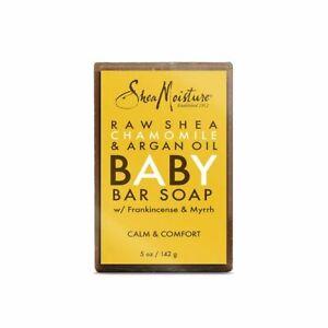 Shea Moisture Raw Shea Chamomile & Argan Oil Baby Bar Soap 5 oz / 142 g
