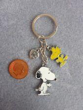 Snoopy & Woodstock Best Friend Enamel Keyring Bag Charm Birthday Gift # 237