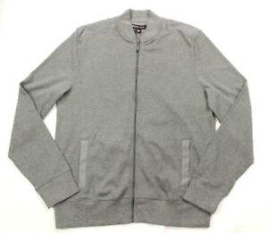 Michael Kors Men's Gray Baseball Style Jacket Size M Retail