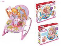 Baby Musical Swinging Viberation Bouncer Chair Toddler Comfortable Safety Rocker