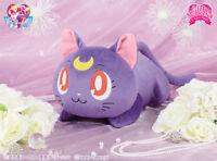 NEW Sailor Moon Big Nesoberi Plush Doll Luna Lying down ver. Rare from Japan F/S