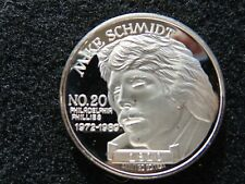 HOF MIKE SCHMIDT #20 PLAYER OF THE DECADE  Silver Coin 999. Once of Fine Silver