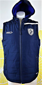 FEATHERSTONE ROVERS 2017 PADDED VEST mens size large new with tags
