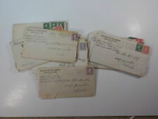 New listing 14 WWI Letters Camp Fremont California Soldier Weeping Water Nebraska Lot WW1