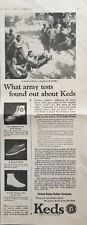 1924 Keds Shoes Vintage Print Ad Oxford Crepe Athletic High Top Sneaker