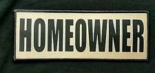 3x8 Homeowner Coyote Tan Tactical Hook Chest Rig Plate Carrier Morale Patch