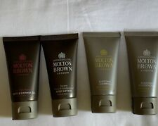 MOLTON BROWN 4 PC: PURIFYING SHAMPOO, CONDITIONER, SHOWER GEL +BODY LOTION